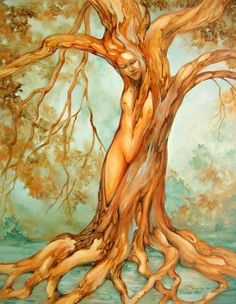 Druids Trees: #Tree Goddess.