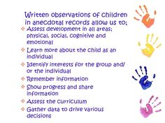 Anecdotes Examples For Essays Observing Children And Writing Anecdotal Records