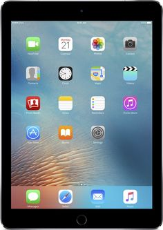 Apple - 9.7-Inch iPad Pro with Wi-Fi + Cellular - 128GB (Sprint) - Space Gray