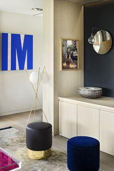 Charles Zana | Apartment Grange Canal architecture d'intérieur, projets de décoration, idées déco