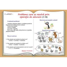 Probleme de matematica ilustrate. Clasele I-IV Alphabet, Bullet Journal, Feelings, School, Horsehair, Alpha Bet, Schools
