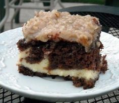 Mommy's Kitchen: German Chocolate Cheesecake Cake