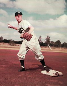 SS Pee Wee Reese, Dodger All-Star 1942, '46 - '54 #VoteDodgers