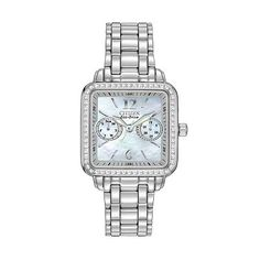 Astonishing Stainless Steel Ciena Watch Feature A Square Face Mineral Crystal Short Hairstyles For Black Women Fulllsitofus