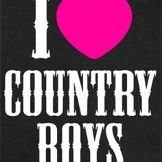 Country Boys!!
