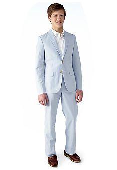 $66 for Blazer Ralph Lauren Childrenswear Seersucker Suit Boys 8-20