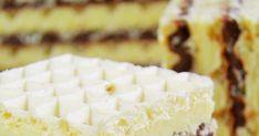 Masa do wafli, którą chcę Wam zaproponować, jest bardzo smaczna, dobrze zastyga, ale też pozostaje lekko wilgotna, dzięki czemu gotowe wafe... Polish Desserts, Irish Cream, Cheesecake, Food And Drink, Cheese Cakes, Cheesecakes