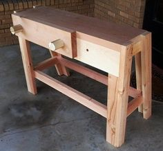 PortaBench, great starter bench for a small space shop.