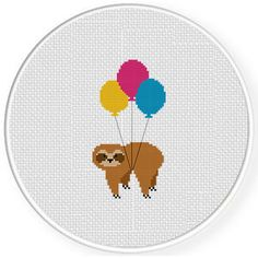 Small Cross Stitch, Cross Stitch For Kids, Cute Cross Stitch, Cross Stitch Borders, Cross Stitch Animals, Cross Stitch Flowers, Cross Stitching, Cross Stitch Embroidery, Embroidery Patterns