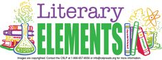Collaborative Summer Library Program Adult Slogan 2014: Literaary Elements