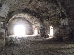 "Inside ""Hanna"", in the archeological site of Trajanopolis near #Alexandroupoli #Greece"