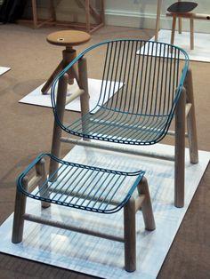 Lapa armchair & ottoman by Rui Alves