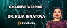 EXCLUSIVE WEBINAR WITH DR. RUJA IGNATOVA - THIS THURSDAY!