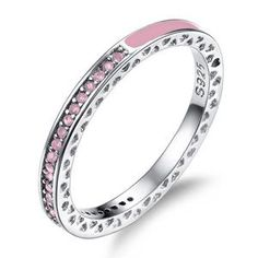 choucong Fashion 6 Colors Anniversary ring AAA zircon Cz Enamel 925 silver Party Wedding Band Rings For Women Fashion jewelry 925 Silver, Silver Jewelry, Sterling Silver, Diamond Jewelry, Glass Jewelry, Jewelry Shop, Jewellery, Friend Rings, Silver Engagement Rings
