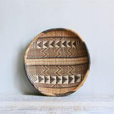 vintage southwestern basket