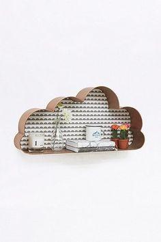 Copper Cloud Shelf