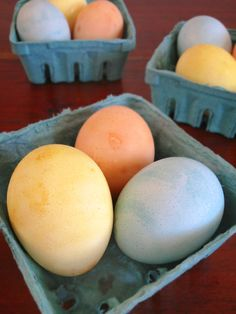 Our Paleo Life | Naturally Dyed Easter Eggs