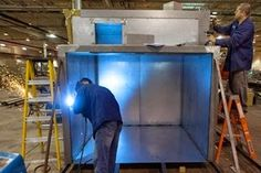 The Intech Insider: Industrial Oven Construction – What to Consider  www.powdercoating.org #itspowdercoated