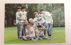 BTS Official MD ZipCode 17520 Group #2 Photo Card Bangtan Boys 2nd Muster