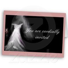 Beautiful Bride Wedding Invitations