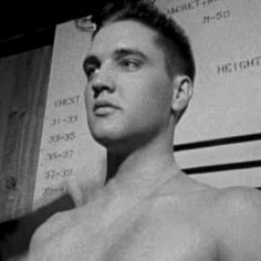 Elvis Army Physical 1958.