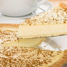 Milk tart is such a classic South African dessert that it even has it's own special day on the calendar – 27 February is known as National Milk Tart Day Tart Recipes, Dessert Recipes, Custard Recipes, Fondue Recipes, Condensed Milk Desserts, Recipes With Condensed Milk, Condensed Milk Cookies, Peppermint Crisp Tart, South African Desserts