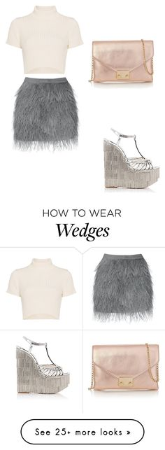 """Untitled #856"" by daniel-weisskirchner on Polyvore featuring Christian Louboutin, Loeffler Randall and Staud"