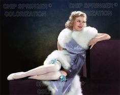 GINGER ROGERS SEXY WHITE STOCKINGS BEAUTIFUL COLOR PHOTO BY CHIP SPRINGER. Featured Ebay Listing. Please visit my Ebay Store, Legends of the Silver Screen, at http://legendsofthesilverscreen.com to see the current listings of your favorite Stars now in glorious color! Thanks for looking and check out my Youtube videos at https://www.youtube.com/channel/UCyX926rA5x4seARq5WC8_0w