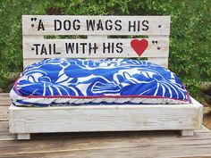 Platform Dog Bed | LivingSimplistically | Etsy