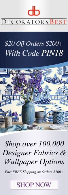 Discount Fabric and Wallpaper Online Store - DecoratorsBest Fabric Wallpaper, Wall Wallpaper, Decorating Tips, Interior Decorating, Wallpaper Online, Wall Treatments, White Decor, Window Coverings, Things To Know