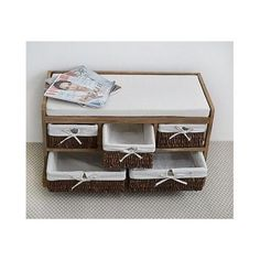 Wooden Storage Bench Shoe Entryway Basket Drawers Cushion Chic Home Furniture in Home, Furniture & DIY, Furniture, Benches Wooden Storage Bench, Basket Drawers, Benches, Home Furniture, Entrance, Decorative Boxes, Entryway, Cushions, Shoe
