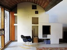 Interiors / Maisons Jaoul in Neuilly / Le Corbusier / 1954