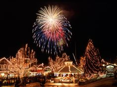 Leavenworth, Washington... Christmas lighting festival.  One of our best vacations ever!