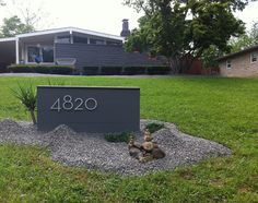 Mid Century Modern Atomic Indy: Mid Century Modern House Numbers