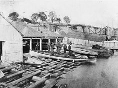 Water Police in Sydney in the early 1900s.