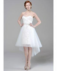 Short Wedding Dresses from Spring 2013 Bridal Fashion Week c535131f5