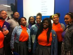 A group of lucky students from the Baltimore Leadership School for Young Women had the opportunity to participate in a #JAJobShadow experience last week at eBay PayPal. Enjoy these photos, which capture their excitement for all their future could hold with the right balance of commitment and determination.