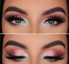 Top Makeup and Eyeshadow Looks A compilation of the best makeup and eyeshadow looks - March edition Creative Eye Makeup, Eye Makeup Art, Colorful Eye Makeup, Colorful Eyeshadow, Bold Eye Makeup, Dramatic Makeup, Daily Makeup, Everyday Makeup, Face Makeup