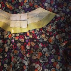 """From my private collection- #vintage #floral #silk #dress #circa1930s #fashionista #textile #VintageClothing"""