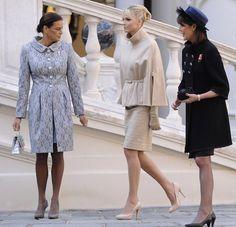 De prometida a princesa: Charlene ocupa su nuevo lugar en las celebraciones del Día Nacional de Mónaco - Foto 6