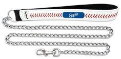 Kansas City Royals Baseball Leather 3.5mm Chain Leash