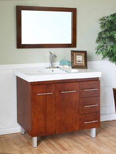 "39"" Altamira Single Bath Vanity - Walnut"
