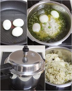 Egg Pulao Recipe – How to make Easy Egg Pulao in Pressure Cooker - Swasthi's Recipes