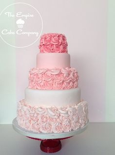 Oh gosh, love this one http://www.empirecakecompany.co.uk/ rose ombre wedding cake