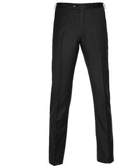 Broek: Grijs - Puur wol S110 - Streep
