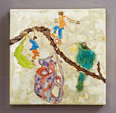 Porcelain Glaze Painting, Samantha Henneke, Seagrove, NC