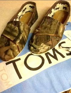 Camo Toms - Need these  have these best toms everrrr