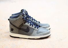 "Nike Dunk High x UNDFTD ""Ballistic"""