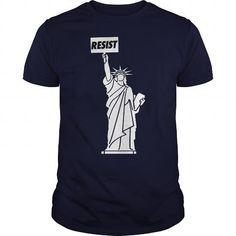 I Love RESIST ANTI TRUMP SHIRT RESIST RESIST T-Shirts