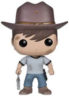 Funko POP! Television: The Walking Dead Series 4 Carl Action Figure, New